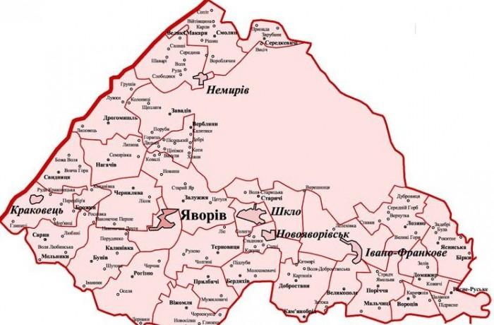 Географія району