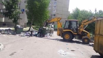 На полігони Львівщини вивантажили 140 тонн сміття