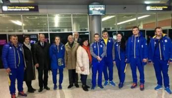 На Львівщині зустріли учасників Зимових Олімпійських Ігор