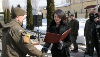 На Львівщині відзначили річницю створення Національної Гвардії