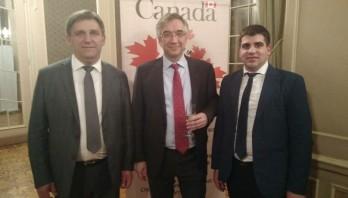 Знайомство з командуванням Об'єднаної оперативної групи Канада-України