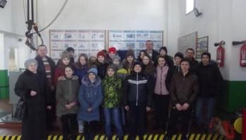 Школярів області ознайомили із роботою малих гідроелектростанцій
