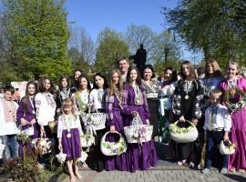 Яворівщина відсвяткувала  Перший районний фестиваль «Великодні гаївки».