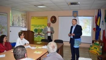 Маріне Елбакідзе  експертом проекту «Підтримка природно-заповідних територій в Україні» відвідала Яворівщину