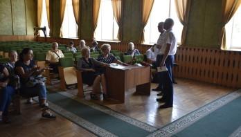 Зустріч з родинами загиблих учасників АТО