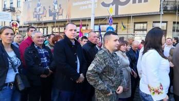 Вулицями Львова пройшов наймаштабніший за часи Незалежності Марш Захисників України