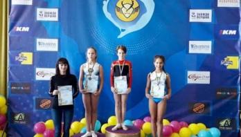 Євгенія Жгута – чемпіонка України зі стрибків на акробатичній доріжці