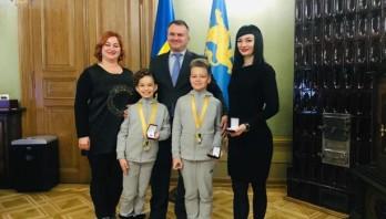 Олег Синютка привітав абсолютних Чемпіонів Світу зі спортивних танців