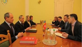Олег Синютка зустрівся з Послом Мальтійського Ордену в Україні Антоніо Газзанті Пульєзе ді Котроне
