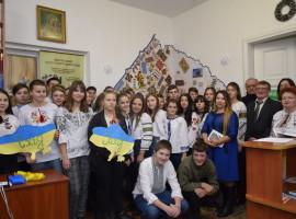 Захід присвячений до 100-ї річниці на шляху єдності та державної незалежності України.