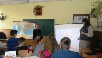 Інтегрований урок з географії та інформатики