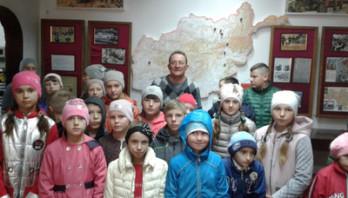 Учні та вчителі Грушівської ЗОШ І-ІІ ст.. відвідали музей «Військової історії  Яворівщини»