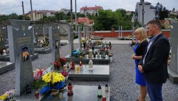 Вшанування пам'ять загиблого учасника АТО Юрія Думанського