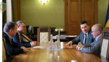 Маркіян Мальський зустрівся із головою Державної служби якості освіти України Русланом Гураком
