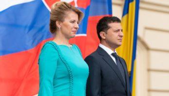 Розпочалася зустріч президентів України та Словацької Республіки