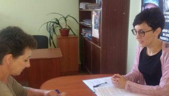 Головний спеціаліст Яворівського відділу обслуговування громадян (сервісний центр) провела прийом громадян на віддаленому робочому місці у смт Краковець