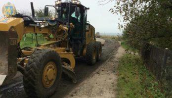 На Сокальщині розпочато роботи з поточного ремонту окремої ділянки автодороги