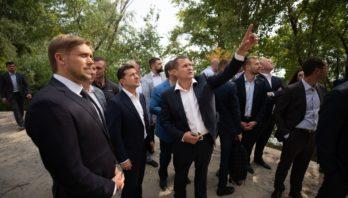 Володимир Зеленський: Якість робіт на Новому мосту у Дніпрі оцінить спеціальна комісія