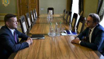 Маркіян Мальський зустрівся з керівником Іноземного Торговельного Представництва в Києві