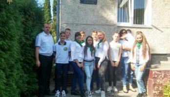 Для школярів організували екскурсію у Бібрський лісгосп