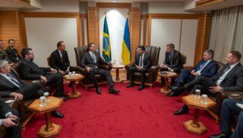Президент України обговорив з Президентом Бразилії можливості нарощування товарообігу між країнами