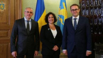 Маркіян Мальський зустрівся із Надзвичайним і Повноважним Послом Великої Британії в Україні Меліндою Сіммонс