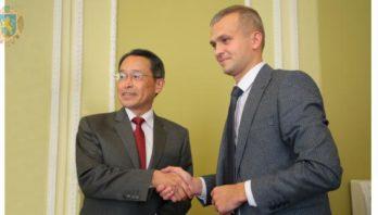 Василь Лозинський зустрівся із Надзвичайним і Повноважним Послом Японії в Україні