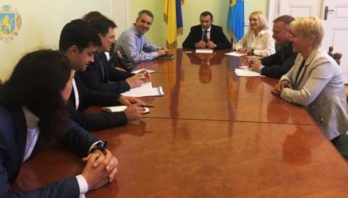 Тарас Грень зустрівся із представниками Міжнародної фінансової корпорації (ІFC)