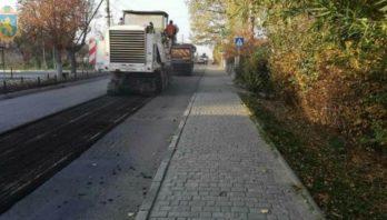 У Моршині триває ремонт дороги