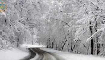 На Львівщині – мокрий сніг та ожеледиця