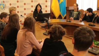 Представники учнівського парламенту ознайомились із роботою Львівської ОДА