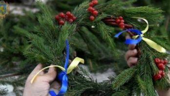 До Новорічних та Різдвяних свят родини Героїв прикрасять Меморіал Небесної Сотні