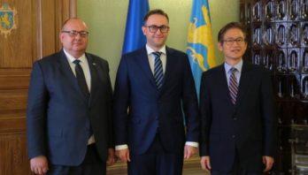Маркіян Мальський зустрівся із Надзвичайним і Повноважним Послом Республіки Корея в Україні