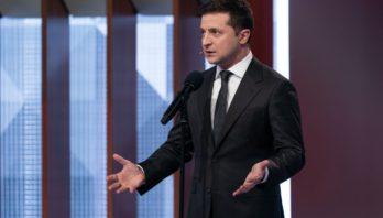 Володимир Зеленський: «Стіна» на Донбасі вже є, а нам потрібно вирішувати, як повернути людей