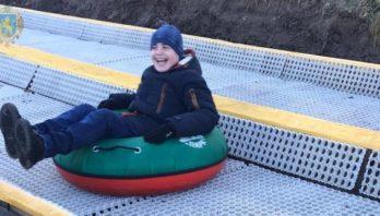 Для дітей з аутизмом організували активне зимове дозвілля