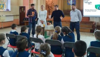 Для львівських школярів організували урок органіки та безпечного харчування