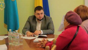 Заступник голови облдержадміністрації Юрій Холод провів черговий особистий прийом громадян