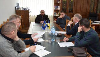 Нарада з директорами комунальних неприбуткових підприємств ЯРРЛО