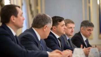 Президент України провів зустріч з Європейським комісаром з питань сусідства та розширення