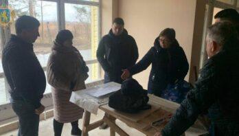 Юрій Холод оглянув хід будівництва амбулаторії у Новому Калинові