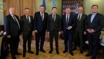 Максим Козицький зустрівся із делегацією Брестської області Республіки Білорусь