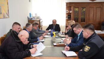У райдержадміністрації відбулося позачергове засідання обласної комісії техногенно-екологічної безпеки та надзвичайних ситуацій