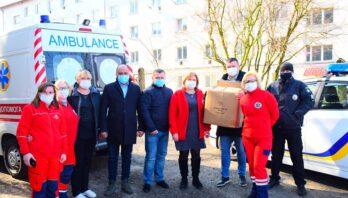 Підприємець з Яворівського району допомагає медичним працівникам в подоланні та запобіганні хвороби