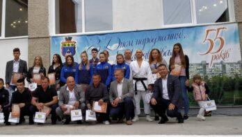 На Яворівщині привітали та нагородили спортсменів району