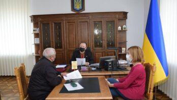 Голова райдержадміністрації зустрівся з активістами Яворівщини