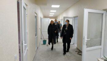 Приймальне відділення Новояворівську районну лікарню ім.Ю.Липи на стадії завершення