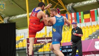 Львів'янин Данило Стасюк виборов бронзу на чемпіонаті Європи з вільної боротьби