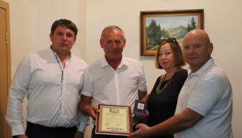 Керівництво району привітали Шипку Петра Івановича з нагоди ювілею