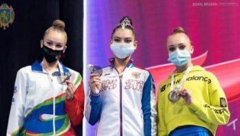 Львів'янка Христина Погранична виборола бронзу етапу Кубку світу з художньої гімнастики