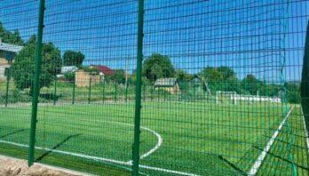 У Новояричівській громаді з'явився новий спортивний майданчик